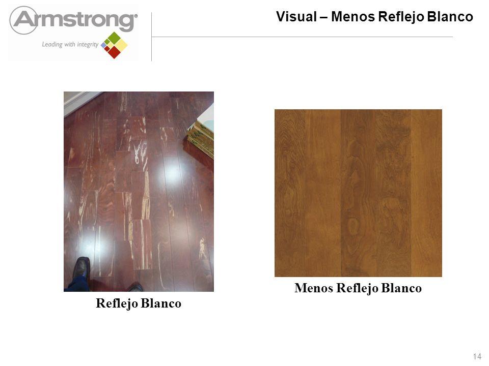Visual – Menos Reflejo Blanco Reflejo Blanco Menos Reflejo Blanco 14