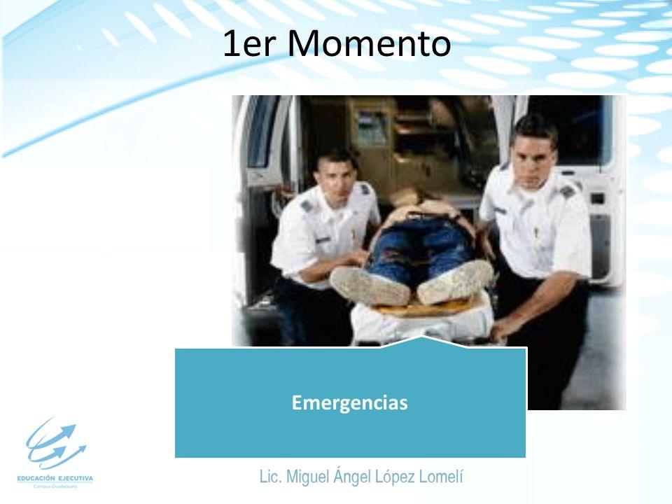 1er Momento Emergencias