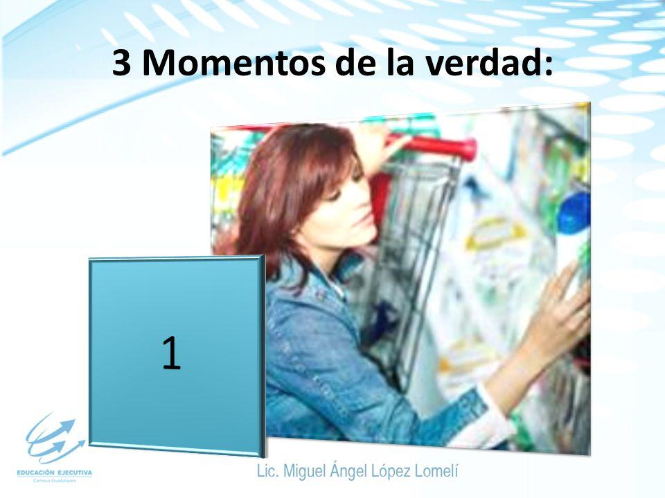3 Momentos de la verdad: