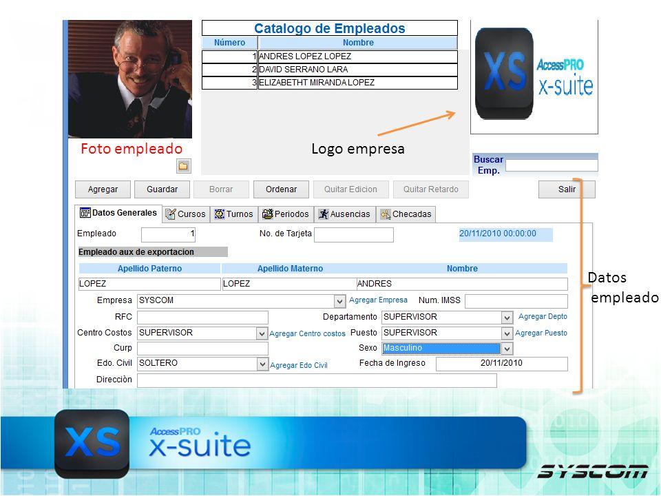 Calcula asistencia por: Empresa Empleado Tipo de nomina sucursal Rango de fechas