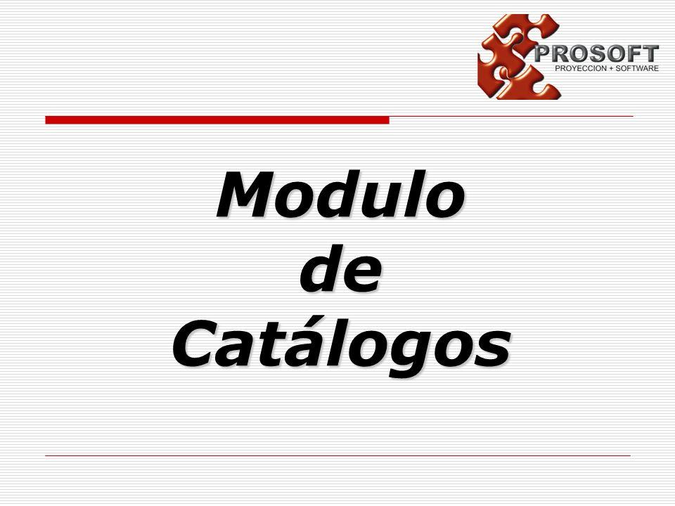 ModulodeCatálogos