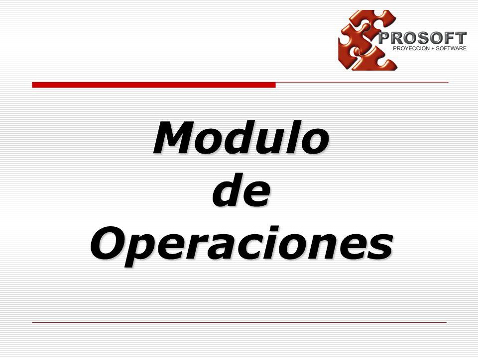 ModulodeOperaciones