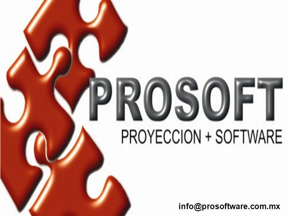info@prosoftware.com.mx