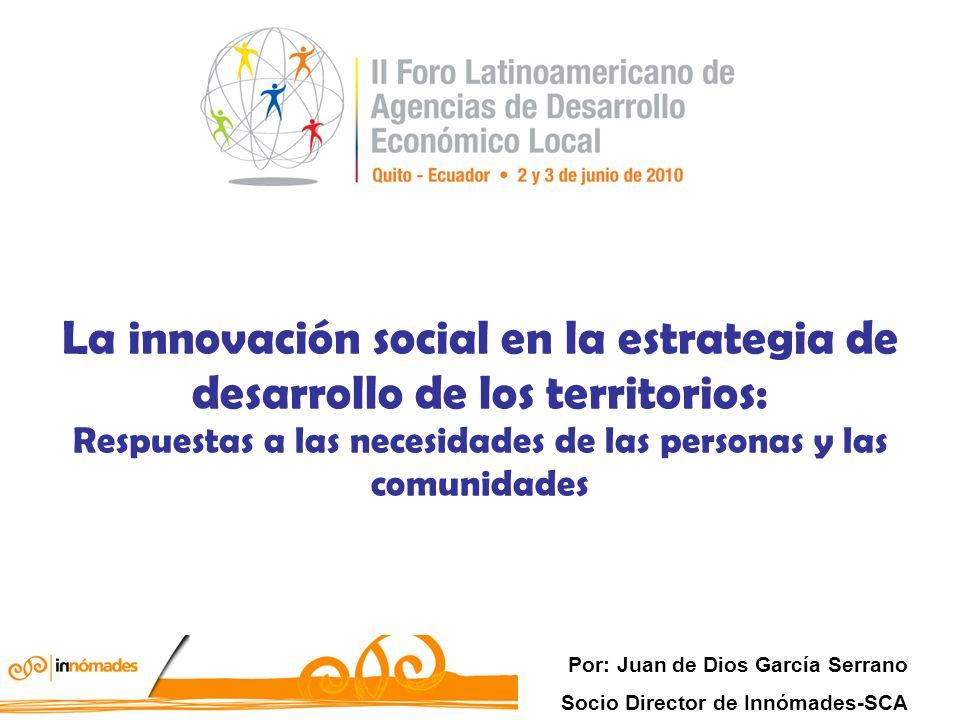 Proceso enraizado con la construcción social de satisfactores con un marcado sentido transcendente (microdesviación del sistema) y comunitario, es decir que además puedan ser aplicadas a procesos de desarrollo a nivel territorial.
