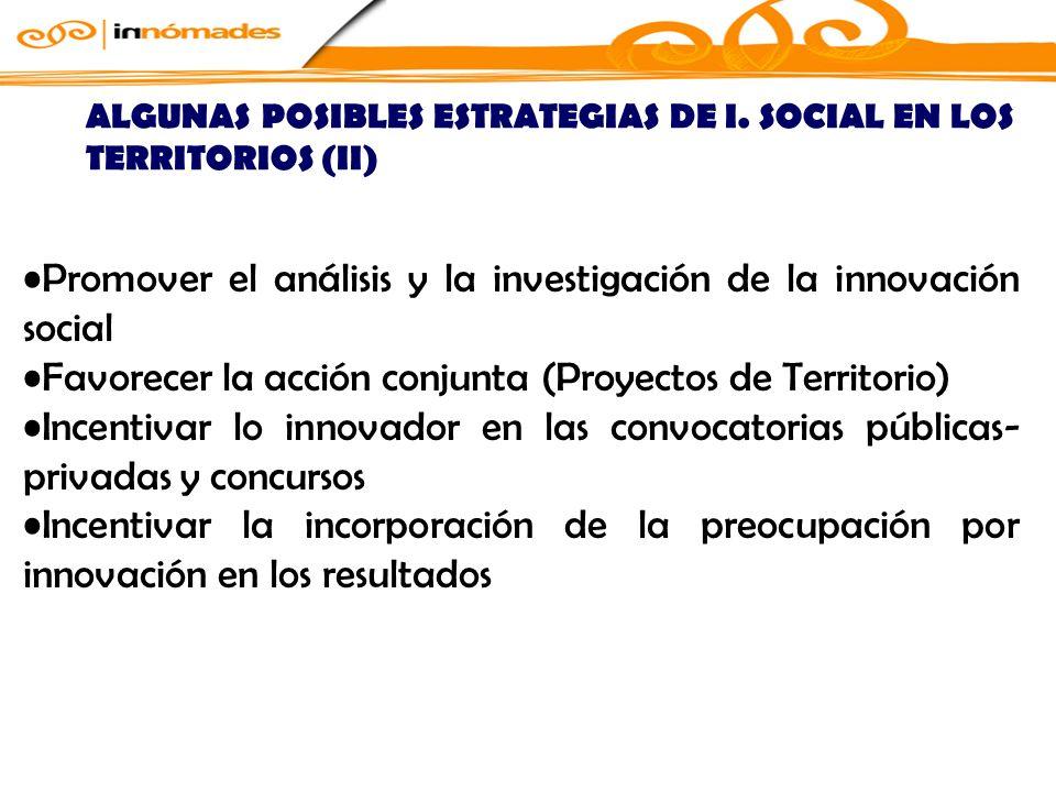ALGUNAS POSIBLES ESTRATEGIAS DE I.