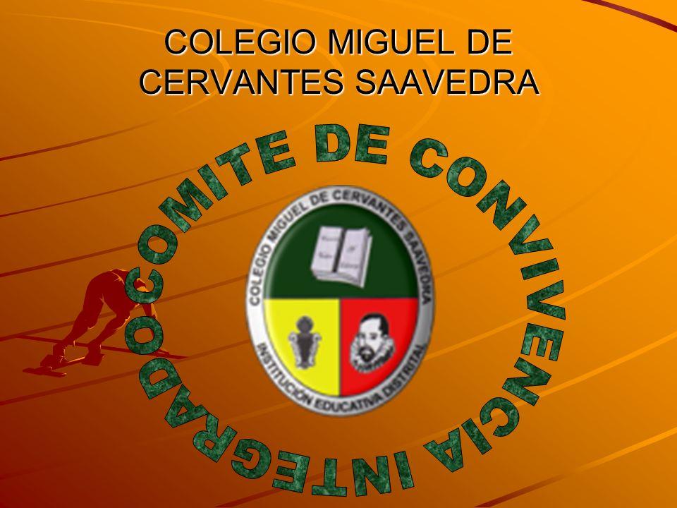 COLEGIO MIGUEL DE CERVANTES SAAVEDRA