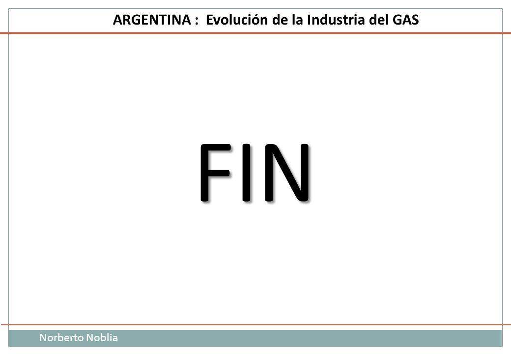 Norberto Noblia ARGENTINA : Evolución de la Industria del GAS FIN