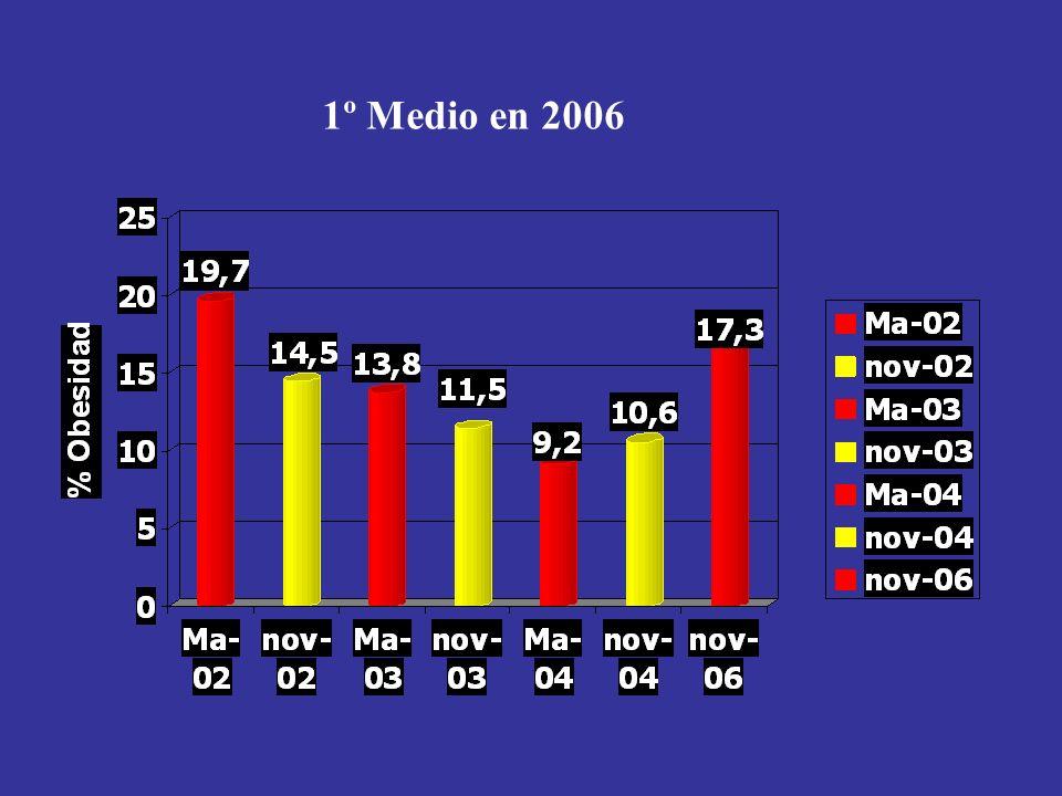 1º Medio en 2006