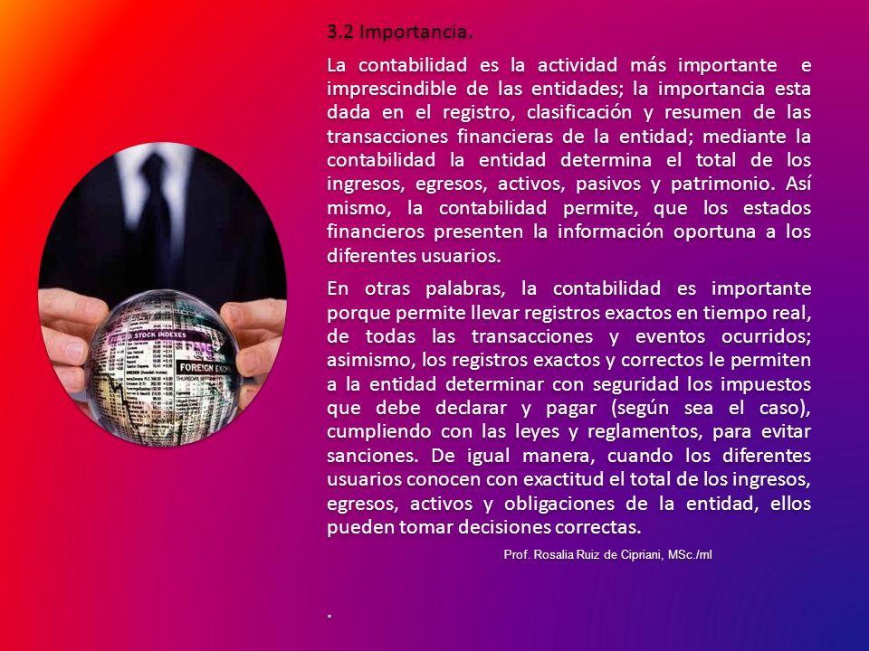 3.3 Objetivo de la contabilidad.Para Hernando Díaz (2001 pág.