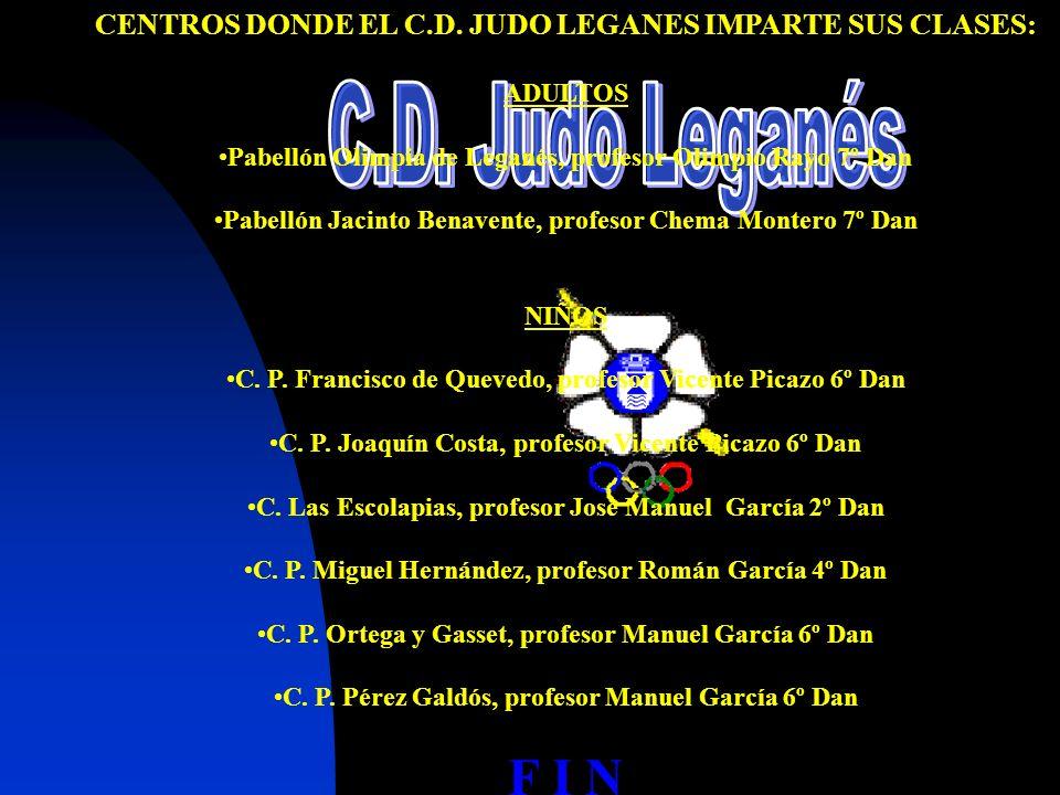 Contacte con nosotros A través de nuestra Web: www.judoleganes.com E-mail: judoleganes@judoleganes.com Contacte con el Presidente del club: Manuel Gar
