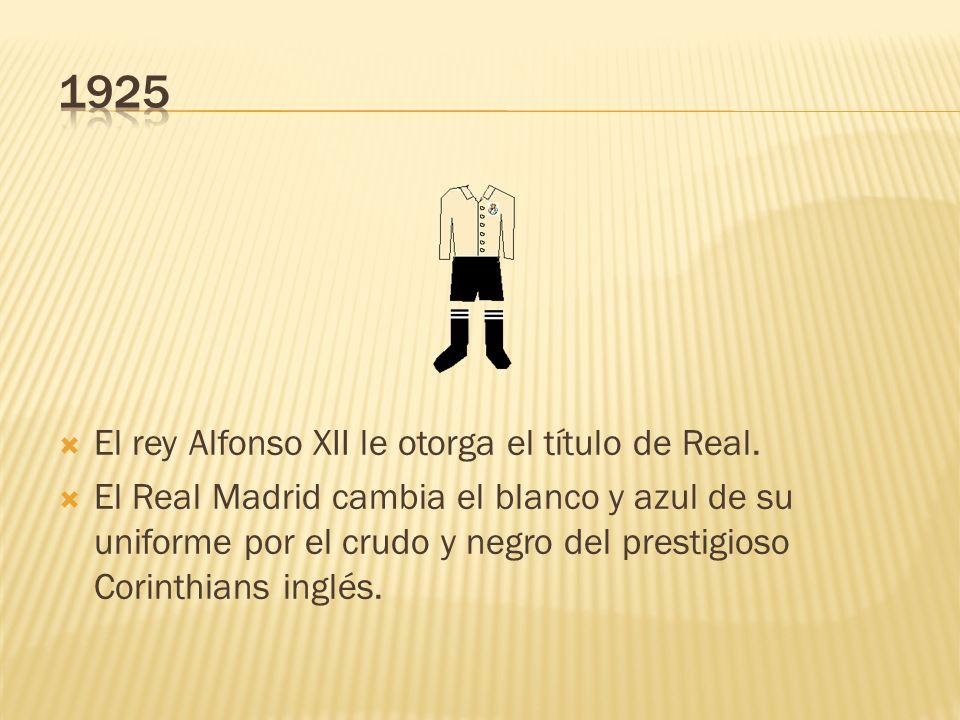 El rey Alfonso XII le otorga el título de Real.