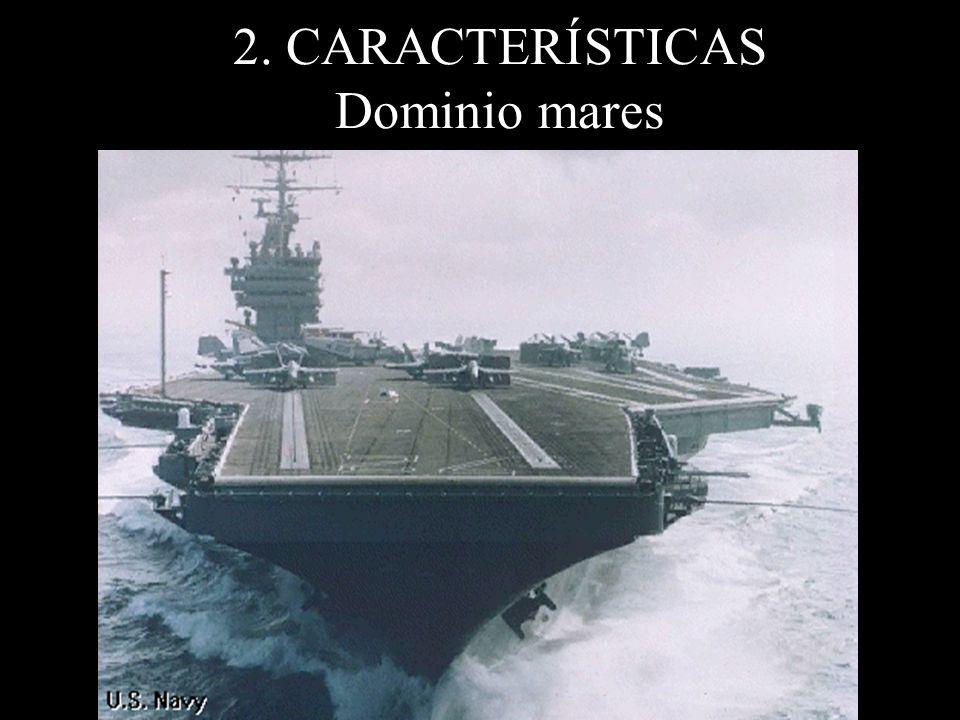 2. CARACTERÍSTICAS Dominio mares