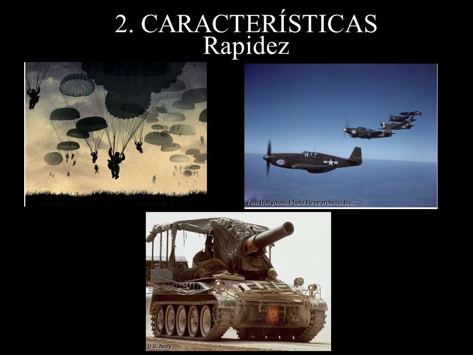 2. CARACTERÍSTICAS Rapidez
