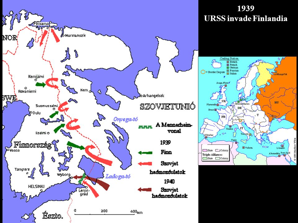 1939 URSS invade Finlandia