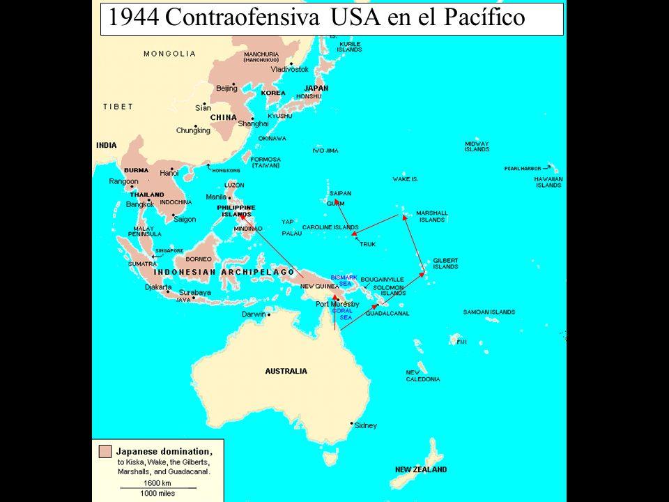 1944 Contraofensiva USA en el Pacífico
