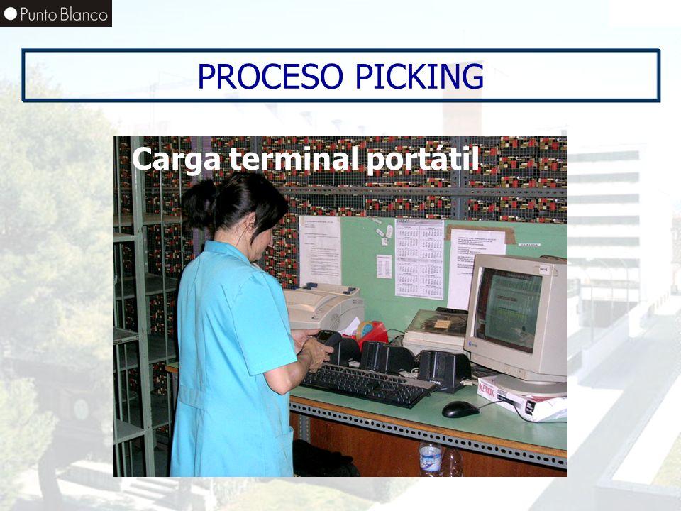 Enero06 PROCESO PICKING Carga terminal portátil