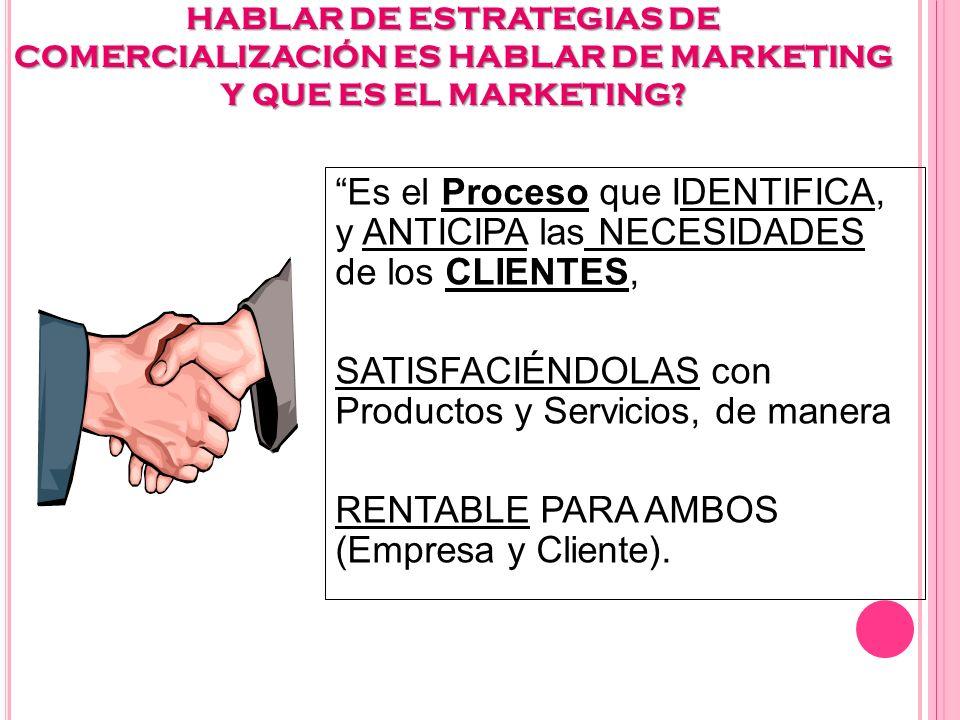 E STRATEGIAS DE COMERCIALIZACIÓN PYMES 1.