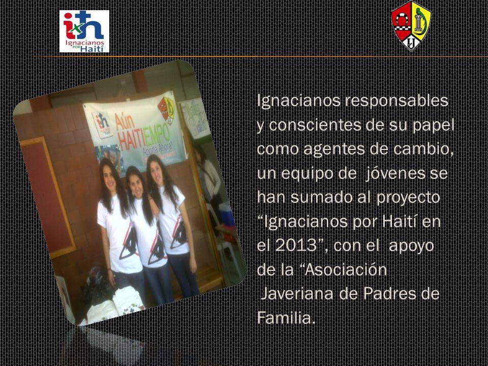 Ignacianos responsables y conscientes de su papel como agentes de cambio, un equipo de jóvenes se han sumado al proyecto Ignacianos por Haití en el 20