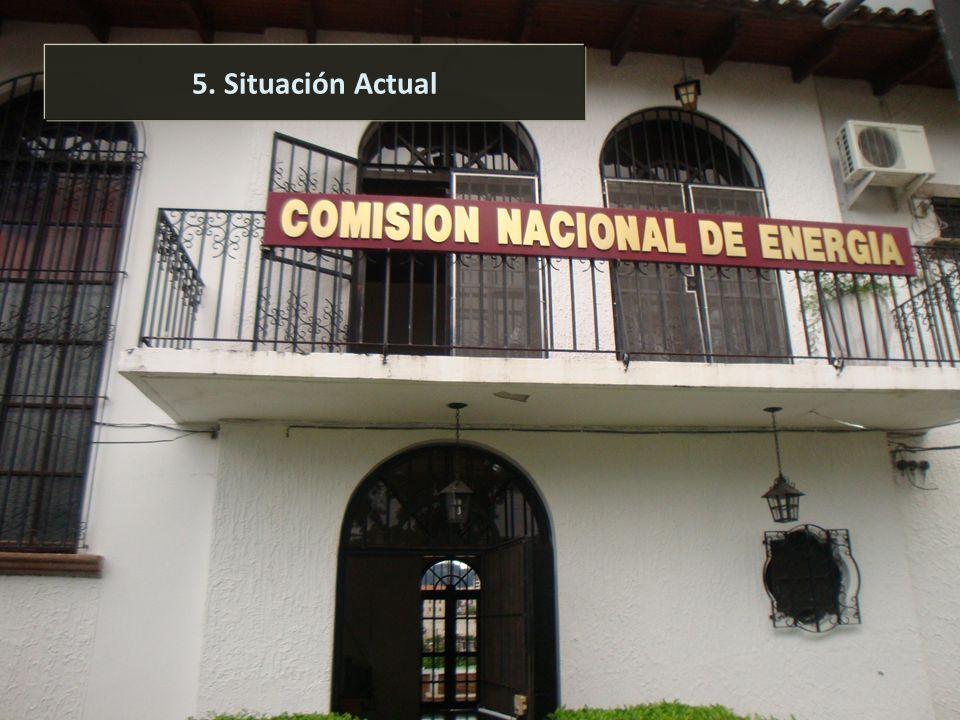 Comisión Nacional de Energía 24 5. Situación Actual