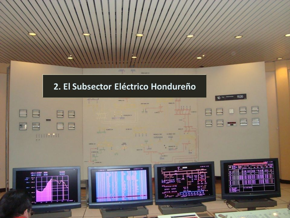 Comisión Nacional de Energía 6 2. El Subsector Eléctrico Hondureño