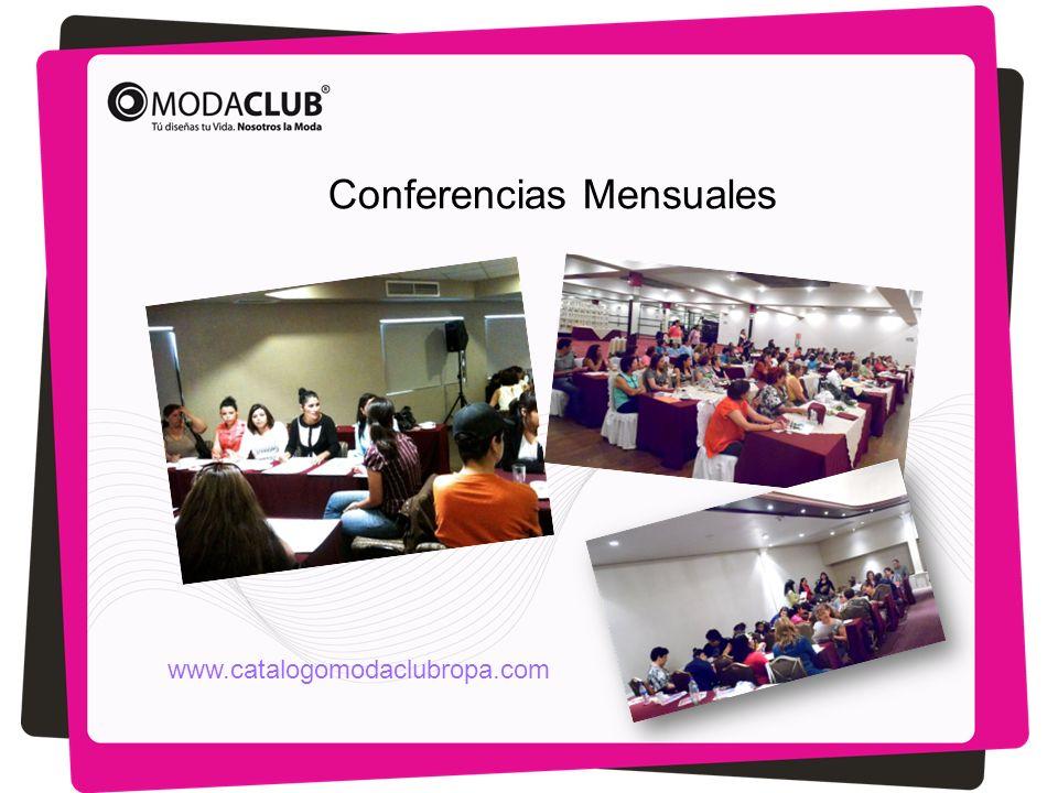 Conferencias Mensuales www.catalogomodaclubropa.com
