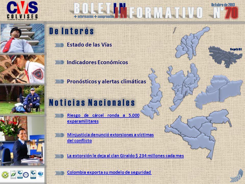Octubre de 2013 + información + compromiso Bogotá D.C.