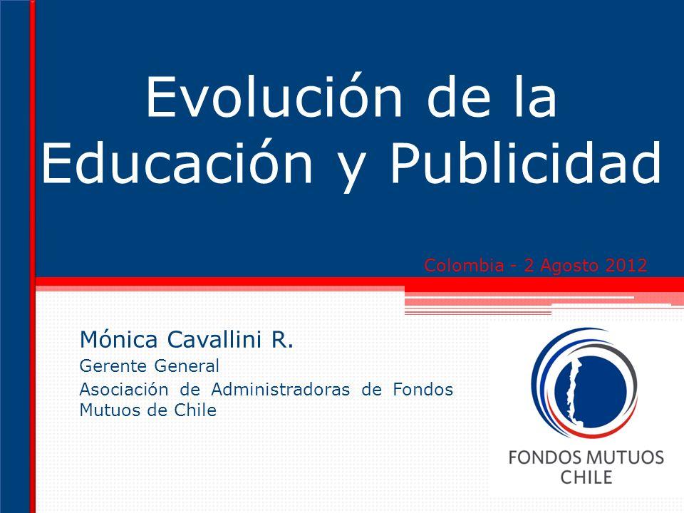 Evolución de la Educación y Publicidad Mónica Cavallini R.