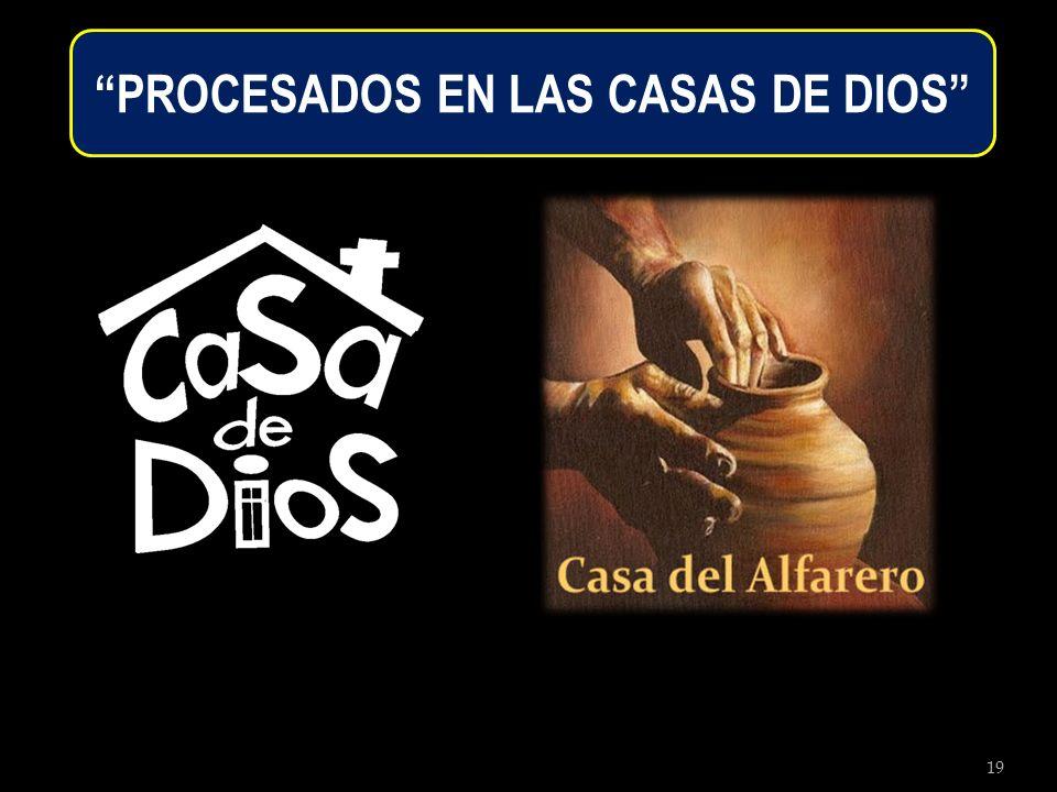 19 PROCESADOS EN LAS CASAS DE DIOS