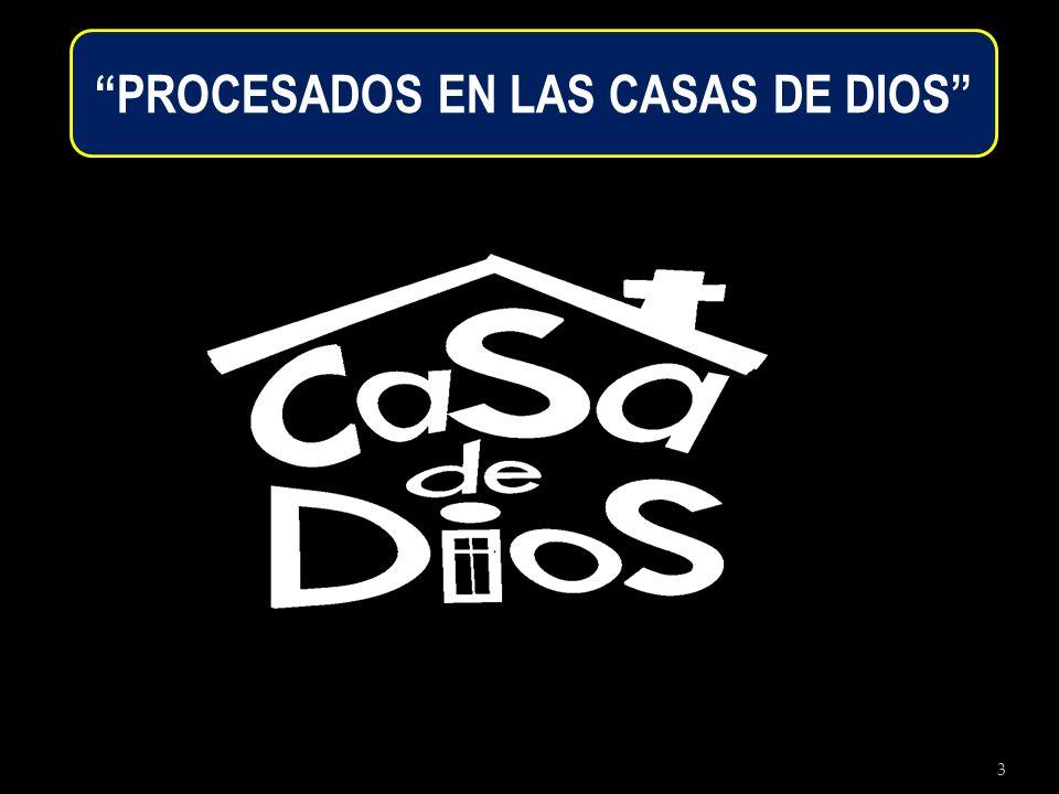 4 Hay 5 casas en la cual Dios nos procesa: 1.La Casa del Alfarero.