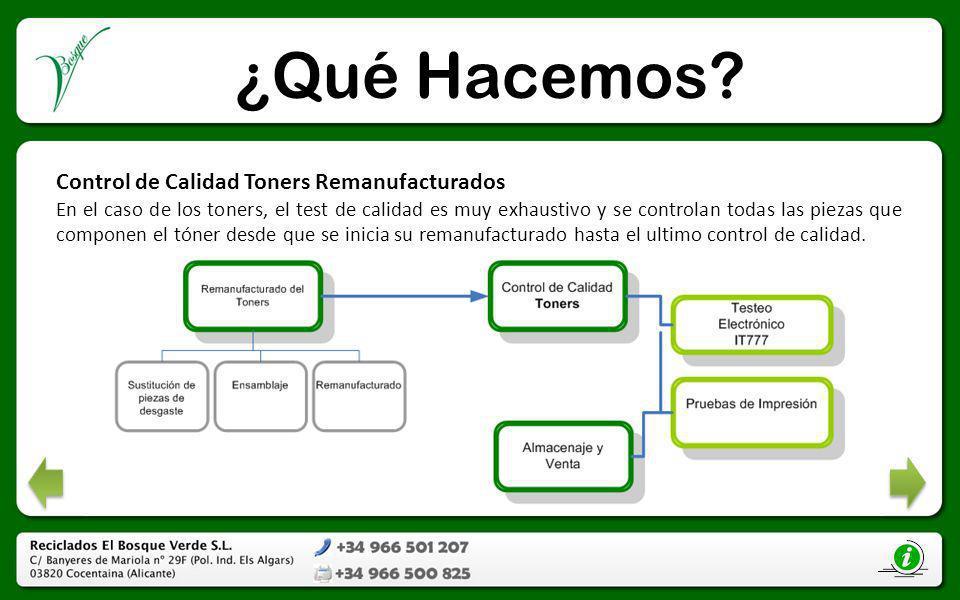 Tóner Reciclado Tóner Reciclado Monocromo Cartuchos remanufacturados por El Bosque Verde.