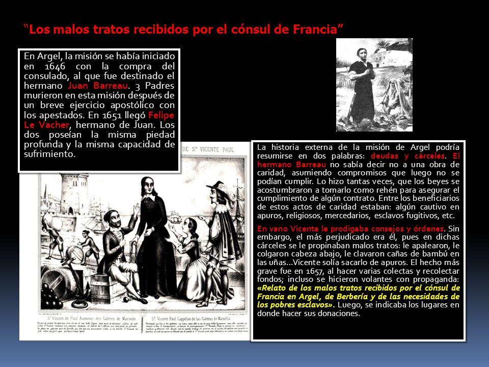 Los malos tratos recibidos por el cónsul de Francia