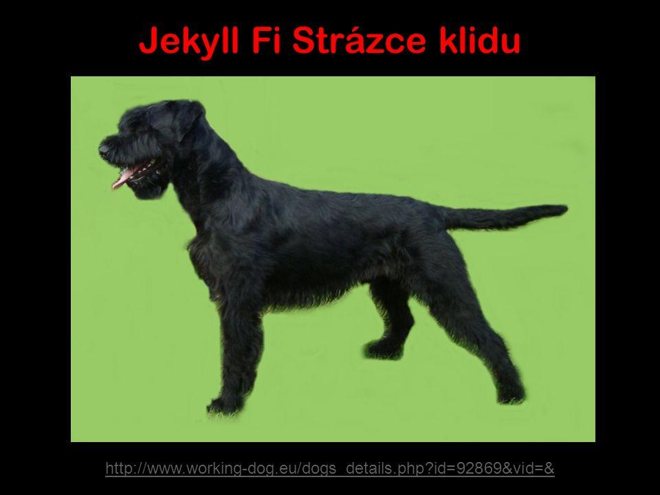 Los padres Jekyll Fi Strázce klidu VPG 3, HD normal V Maxi vom Klingsgarten HD normal SG