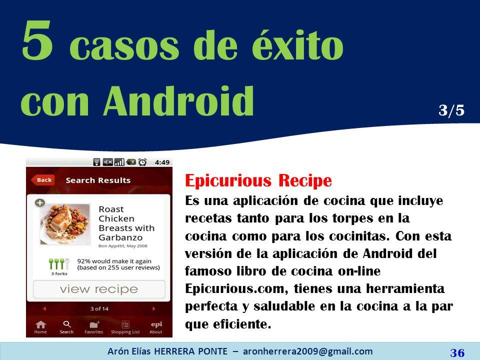 Epicurious Recipe Es una aplicación de cocina que incluye recetas tanto para los torpes en la cocina como para los cocinitas. Con esta versión de la a