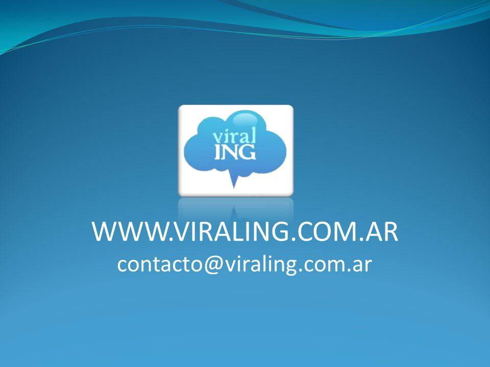 WWW.VIRALING.COM.AR contacto@viraling.com.ar