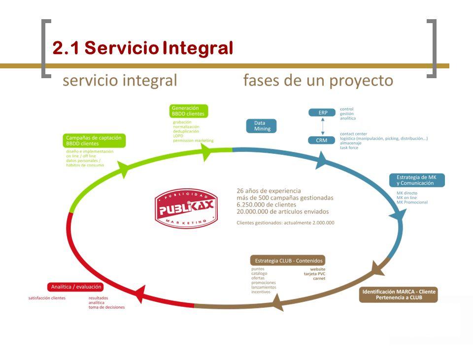 2.1 Servicio Integral