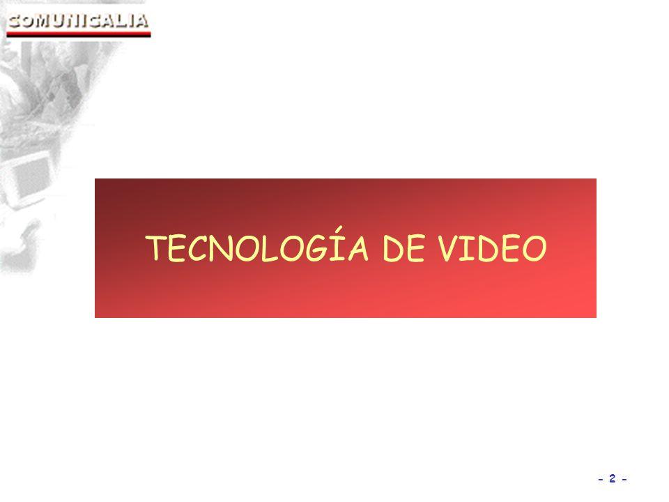 - 2 - TECNOLOGÍA DE VIDEO