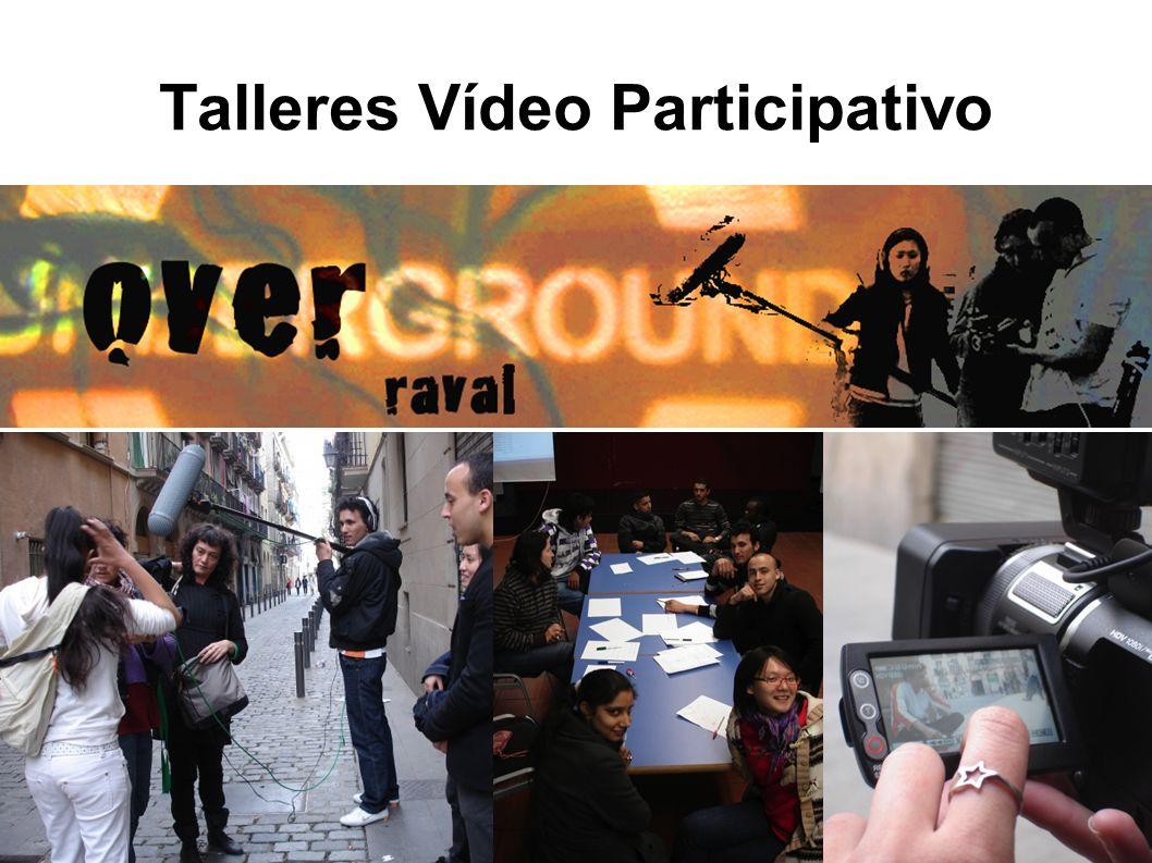 Talleres Vídeo Participativo