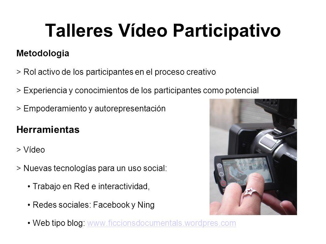 Metodologia > Rol activo de los participantes en el proceso creativo > Experiencia y conocimientos de los participantes como potencial > Empoderamient