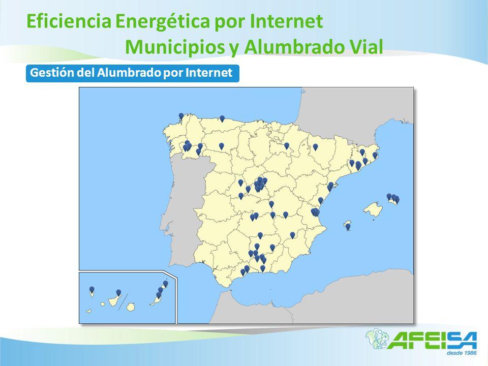 Gestión del Alumbrado por Internet Eficiencia Energética por Internet Municipios y Alumbrado Vial