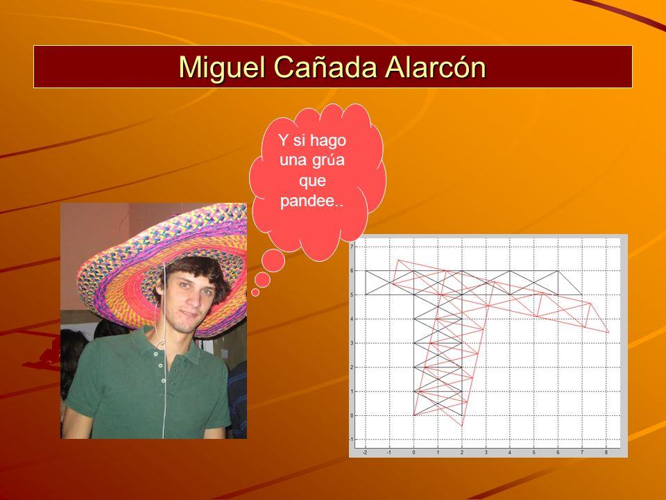 Miguel Cañada Alarcón Y si hago una gr ú a que pandee..