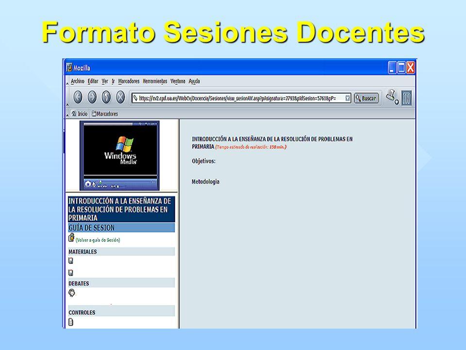 Formato Sesiones Docentes