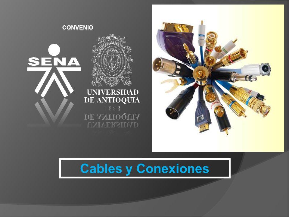 CONVENIO Cables Se llama cable a un conductor (generalmente cobre) o conjunto de ellos generalmente recubierto de un material aislante o protector.