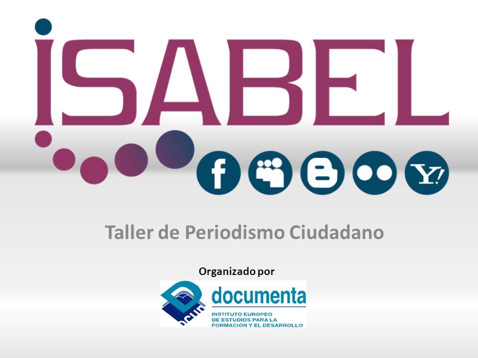 Proyecto: Medios sociales interactivos para la integración, intercambio de conocimientos, empoderamiento y aprendizaje informal (ISABEL) ISABEL es un proyecto europeo iniciativa del programa lifelong learning y financiado por la Comisión Europea