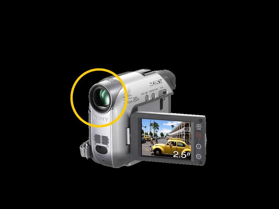 Objetivo (el lente) Formado por varios conjuntos de lentes, en un tubo cilíndrico.