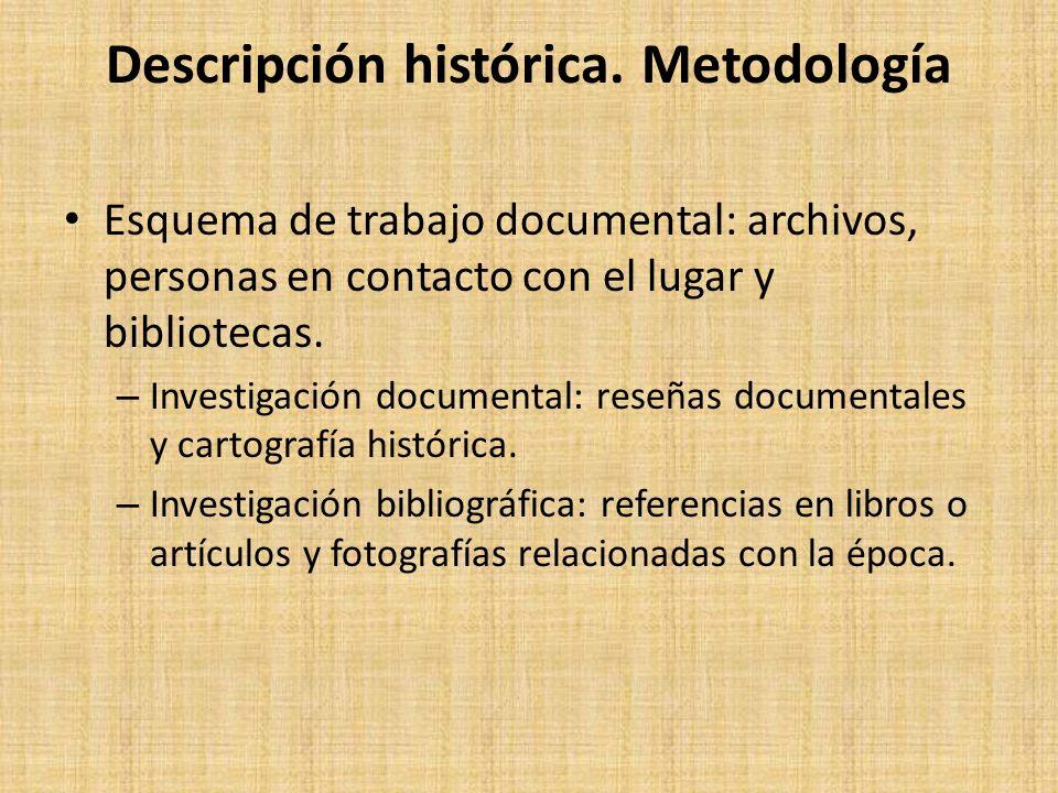 Descripción histórica.