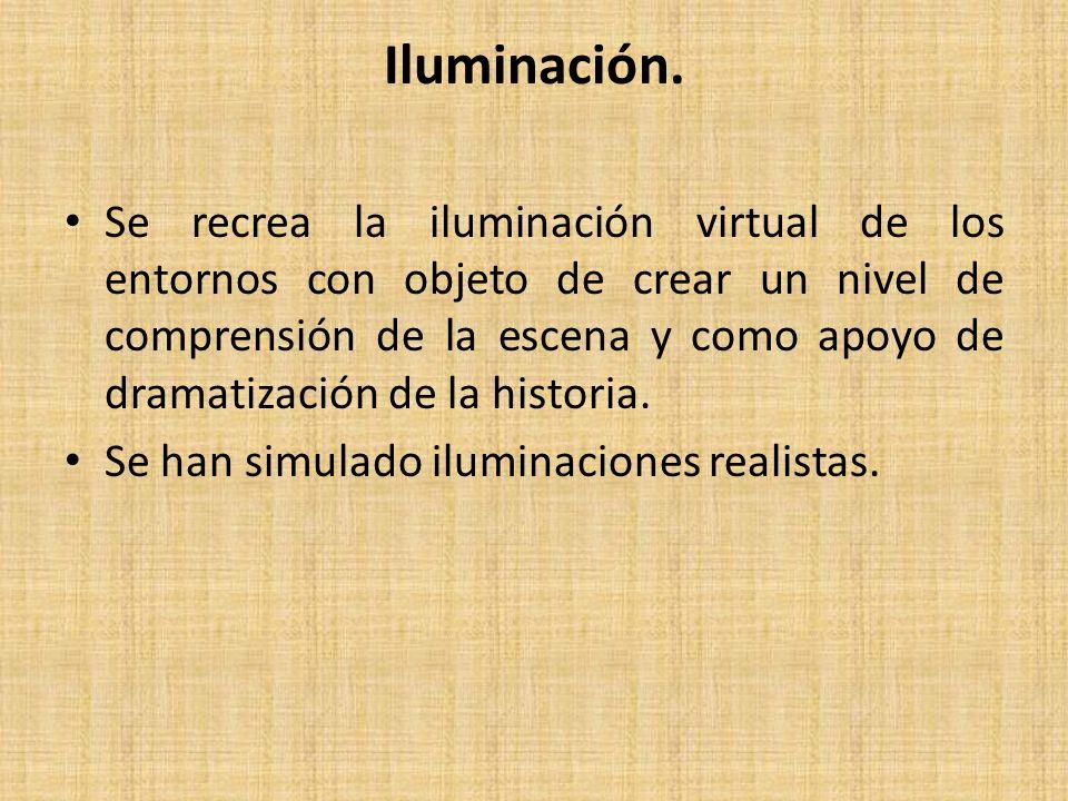 Iluminación.