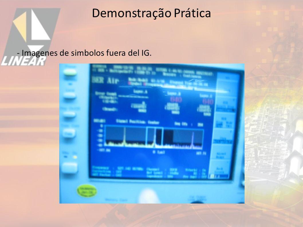 - Imagenes de simbolos fuera del IG. Demonstração Prática