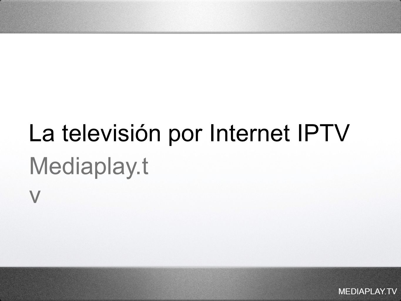 MEDIAPLAY.TV 2.
