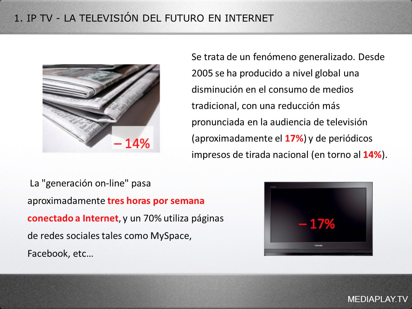 MEDIAPLAY.TV 8.CÓMO GESTIONAR TU MEDIAPLAY.TV (BACK-END O PANEL DE GESTIÓN) 8.4.