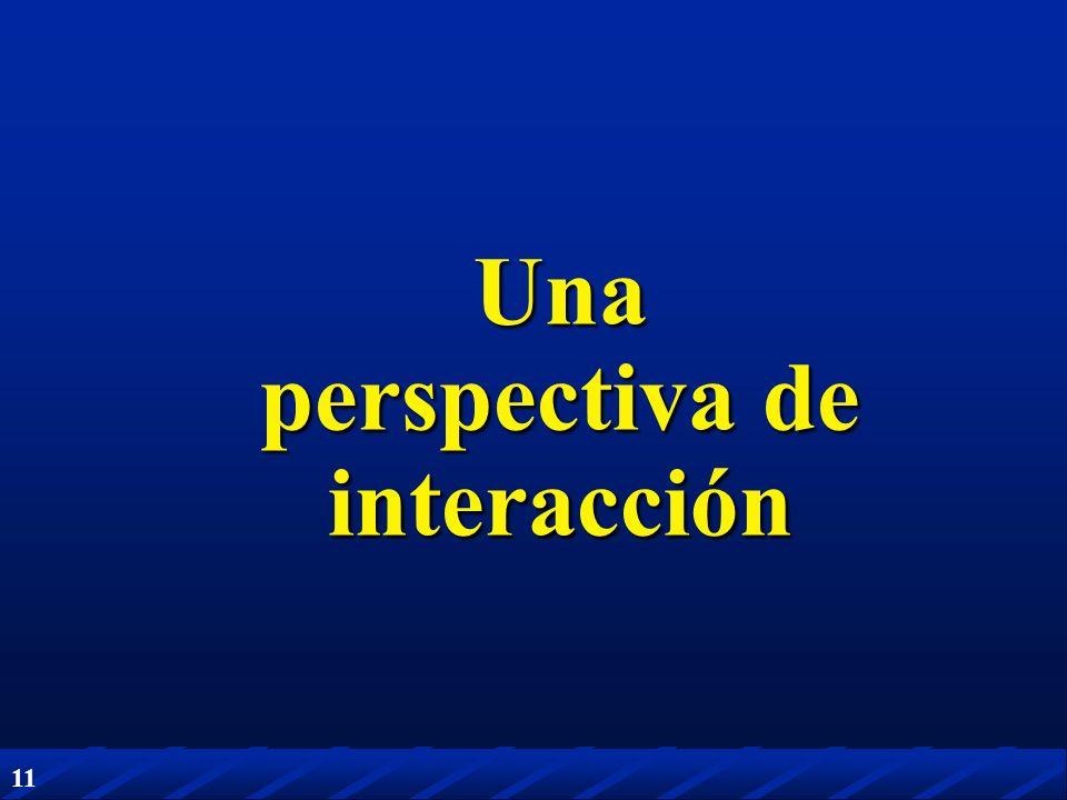 11 Una perspectiva de interacción